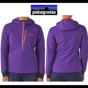 Patagonia women's purple high Alpine jacket size M